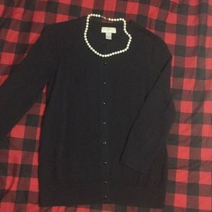 Black LOFT cardigan